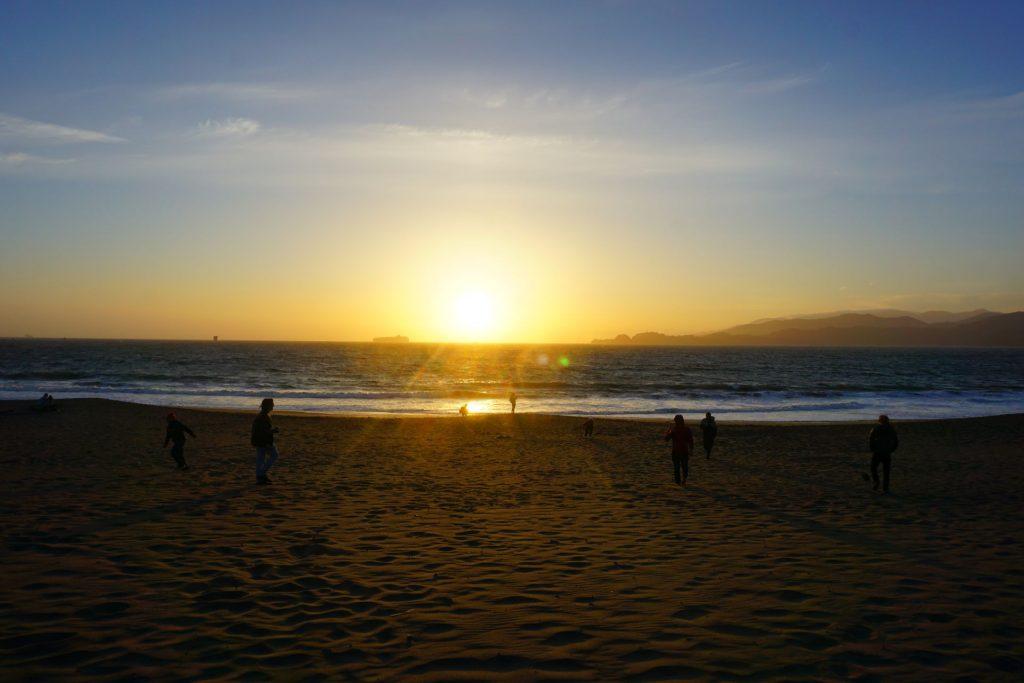 san-francisco-baker-beach-tramonto