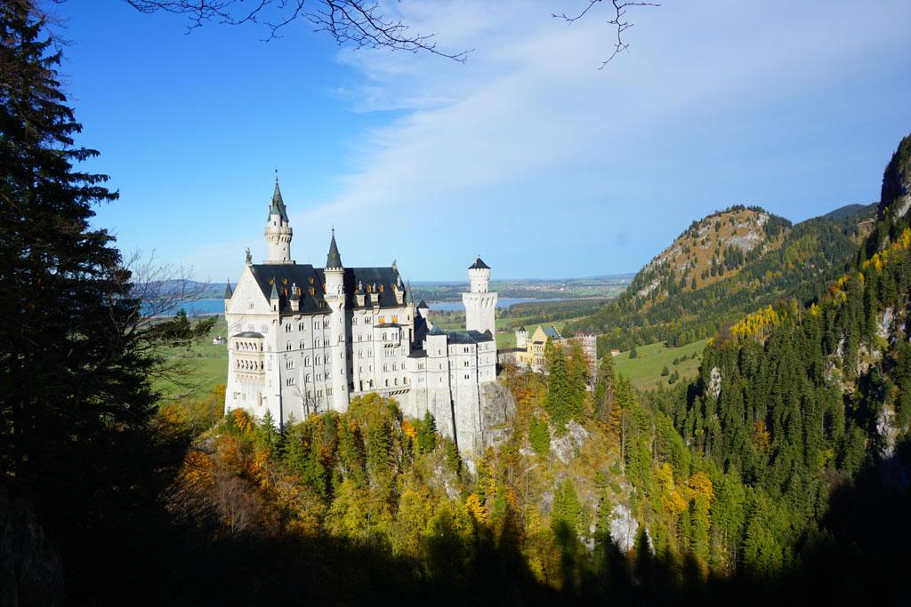 romantische-strasse-castello-neuschwanstein