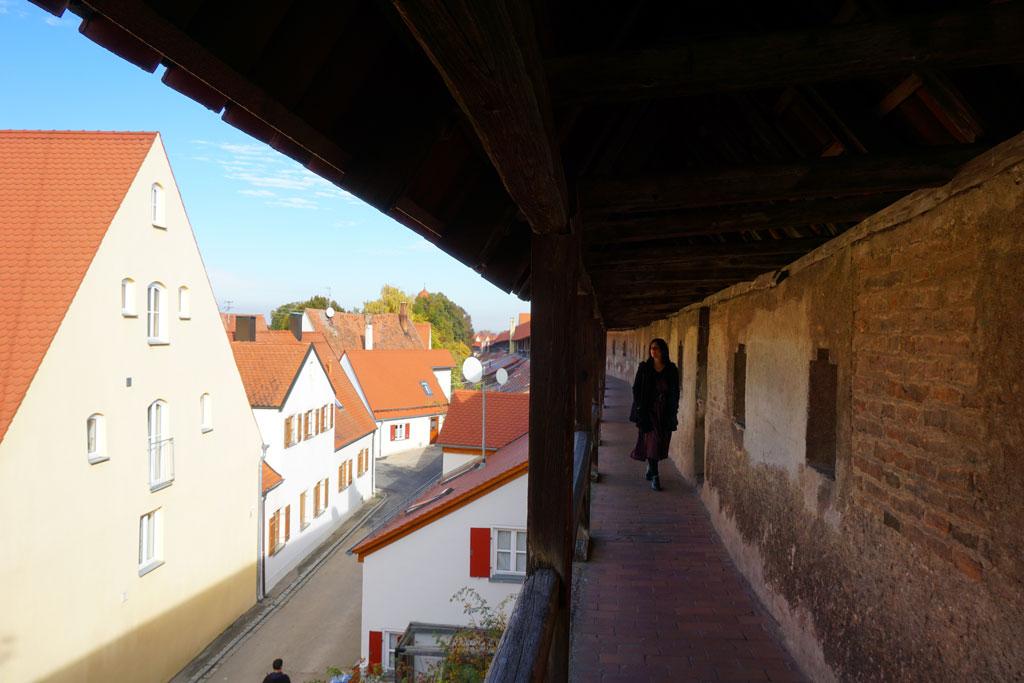 romantische-strasse-nordlingen-mura-medievali