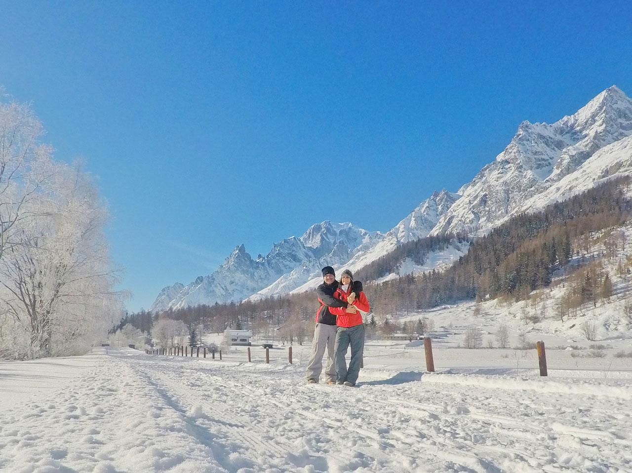 Trekking Nel Magico Silenzio Della Val Ferret Ai Piedi Del Monte Bianco Un Trolley Per Due
