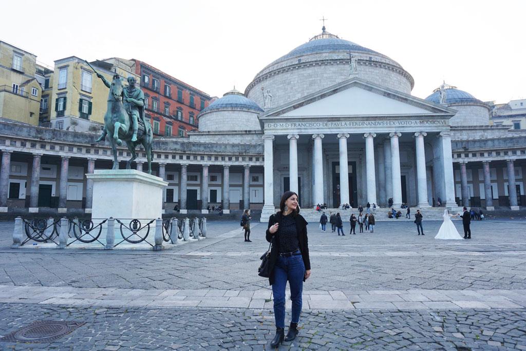 Napoli Piazza del Plebiscito