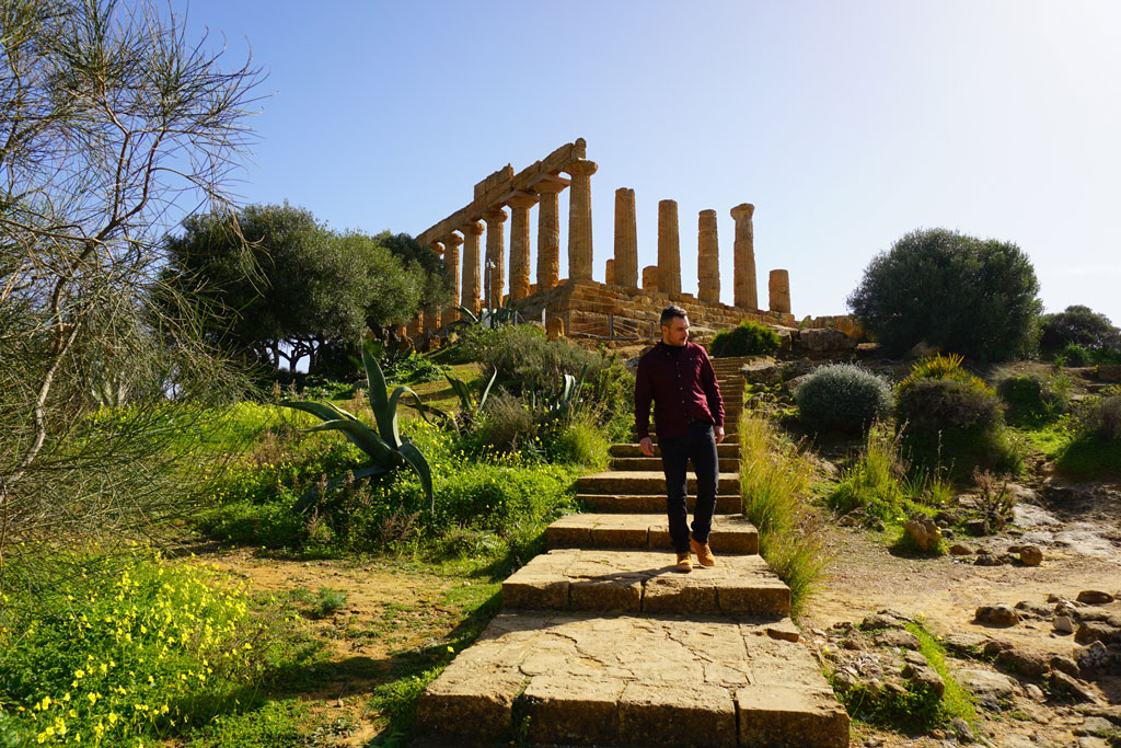 Tempio di Giunone nella Valle dei Templi di Agrigento