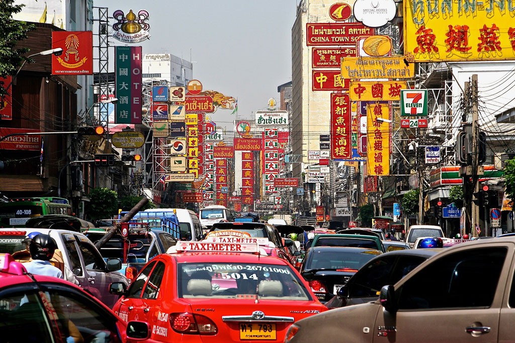 Il traffico di Bangkok