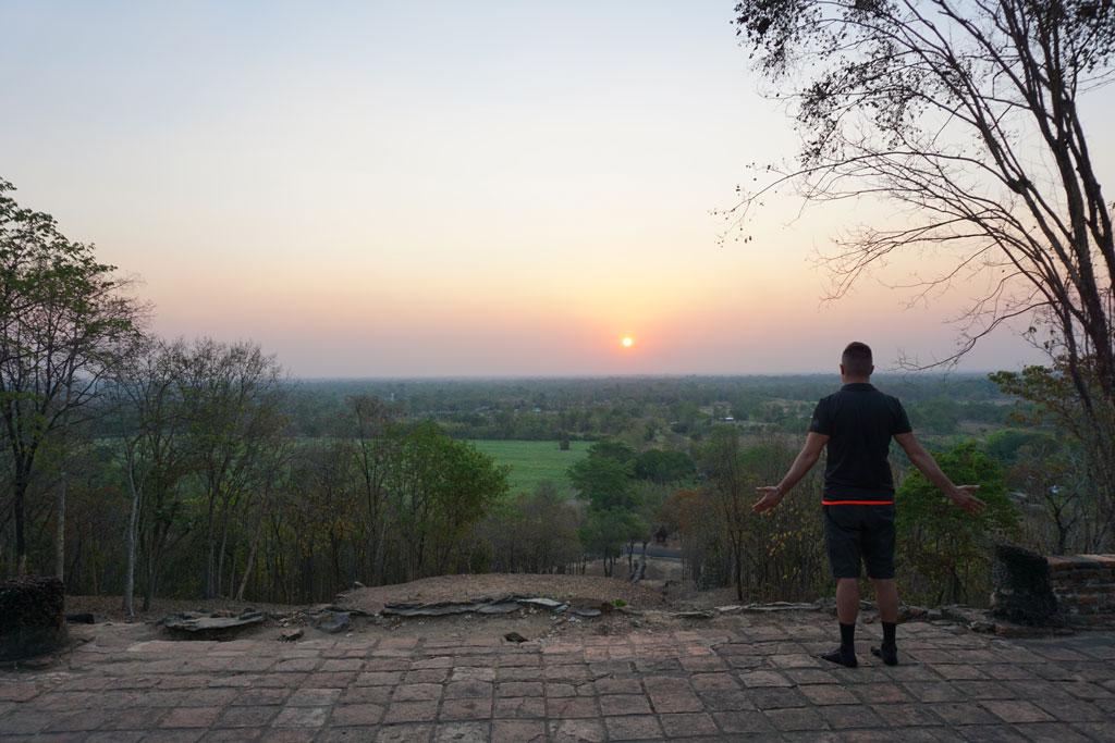 Sukhothai alba della felicità