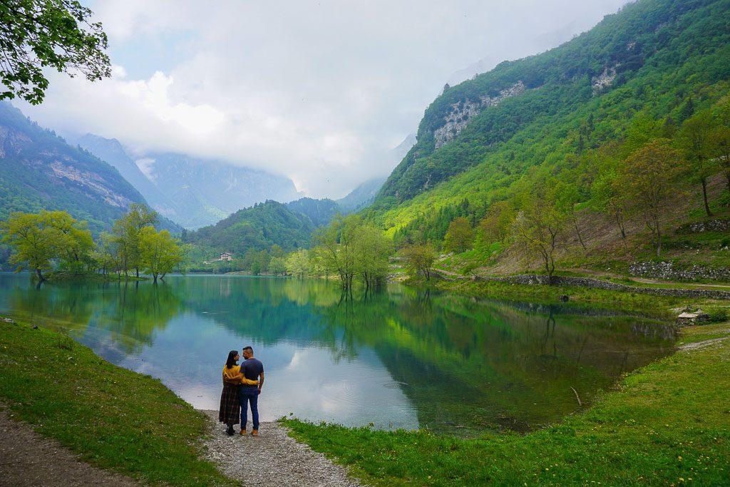 Lago di Tenno sentiero