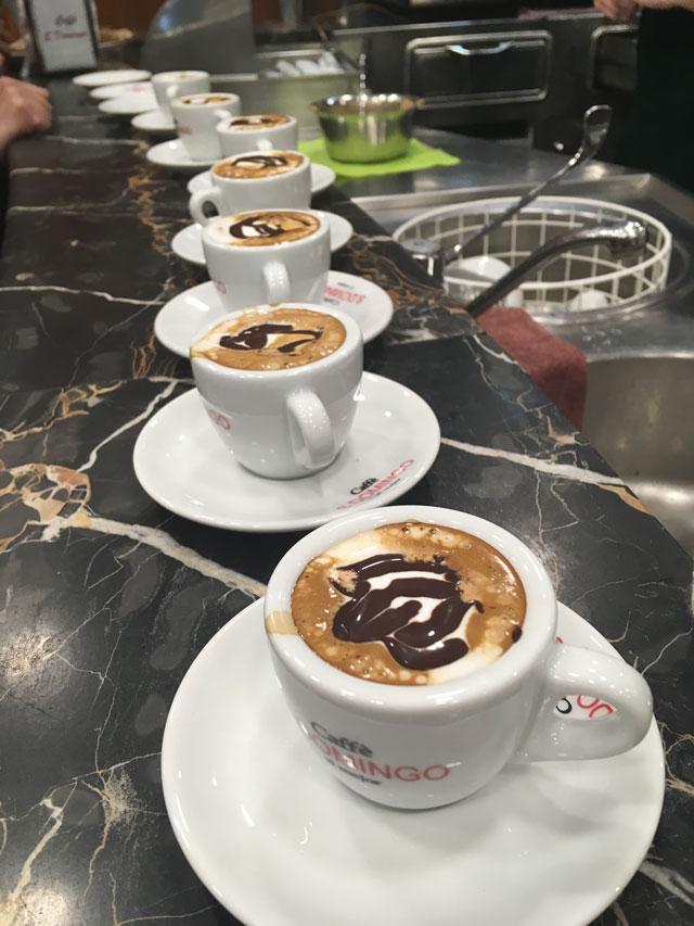 caffè caldofreddo Napoli