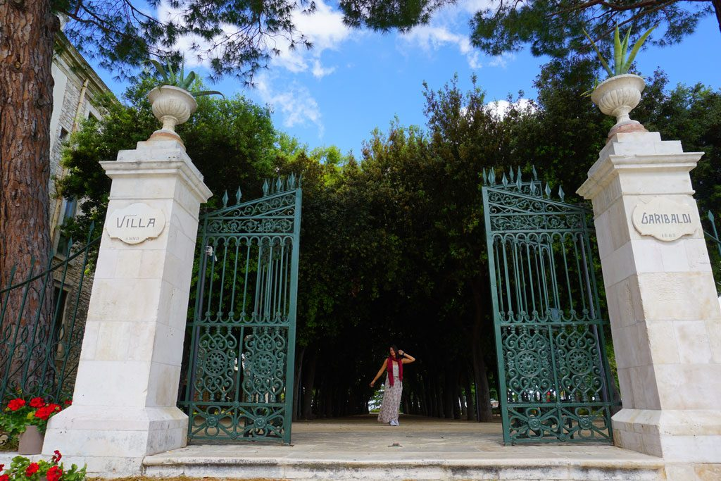 Conversano Villa Garibaldi