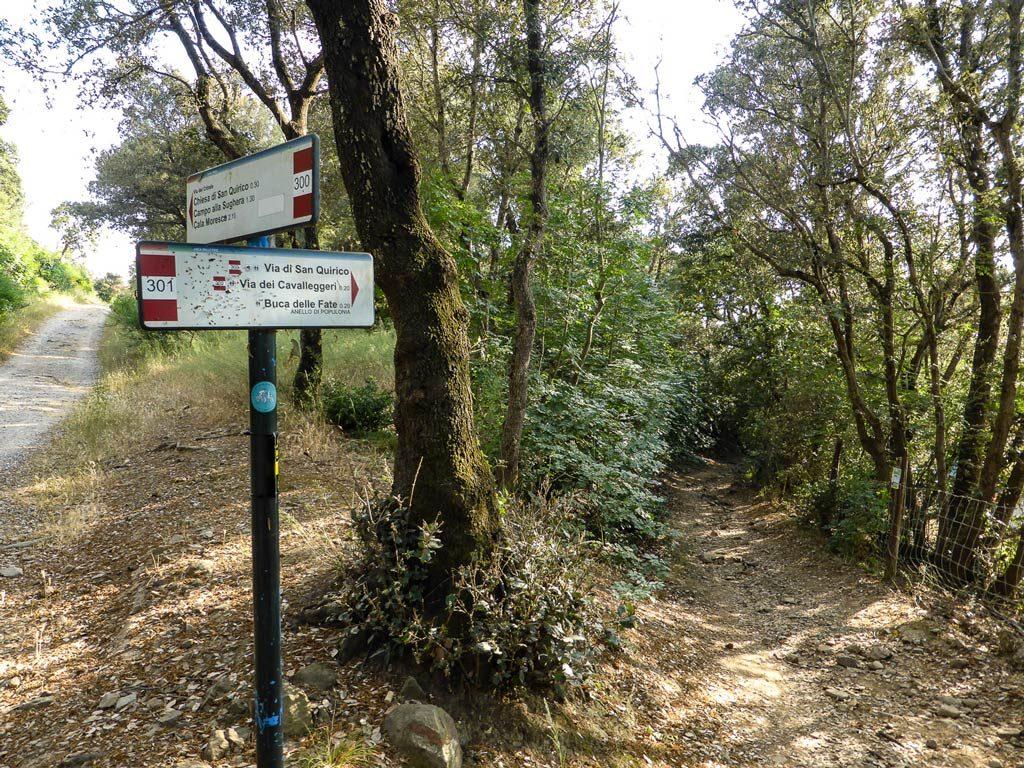 sentiero Buca delle Fate Baratti