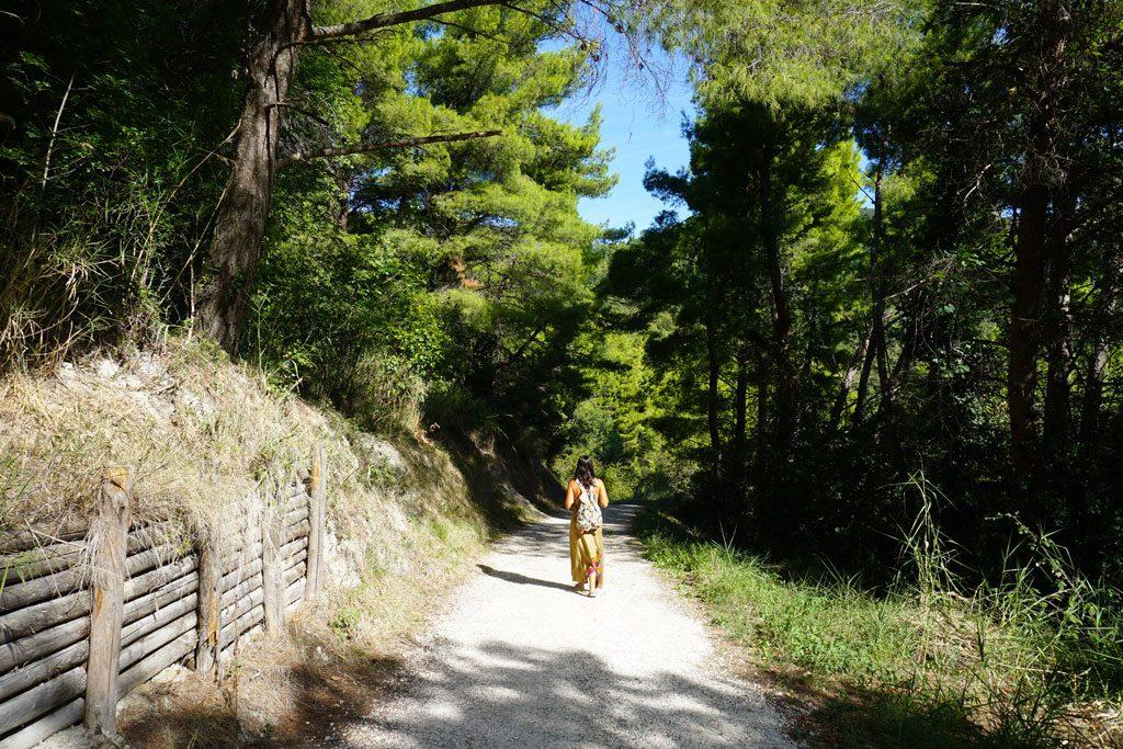 trekking conero