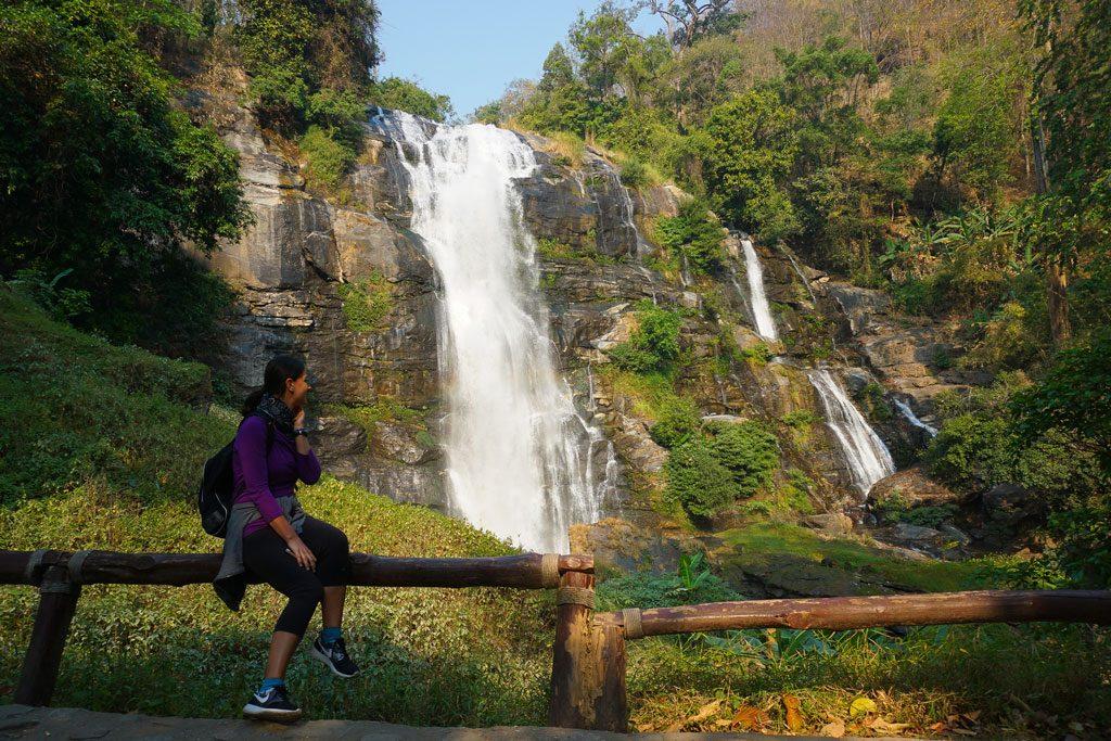 Wachirathan Falls Doi Inthanon
