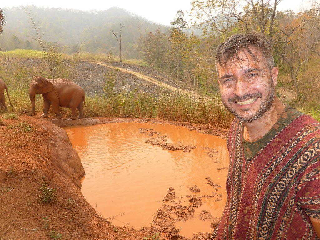 giornata con gli elefanti thailandia