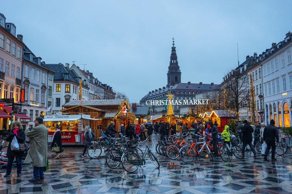 christmas market copenaghen