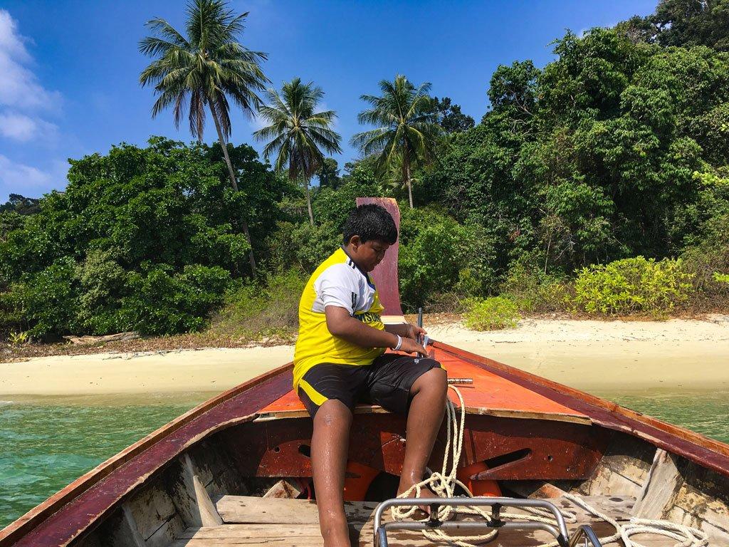 escursioni in barca Koh Lipe