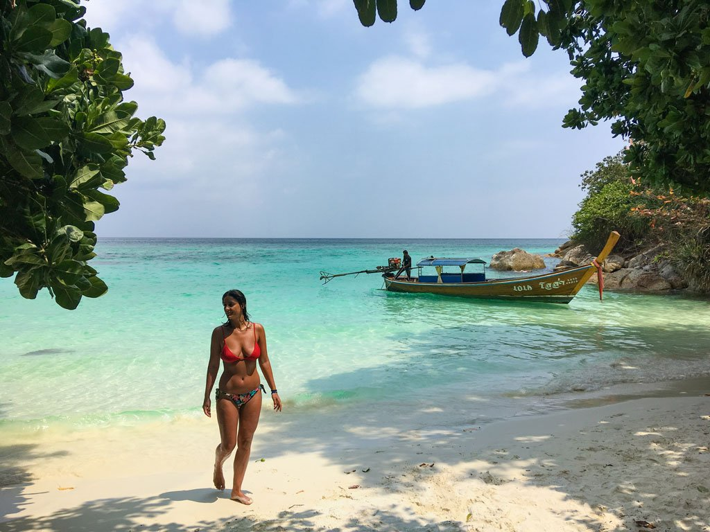 ten moons lipe resort beach