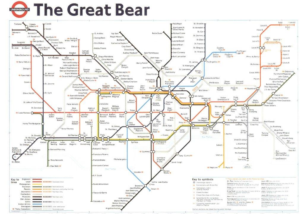 the great bear london underground map