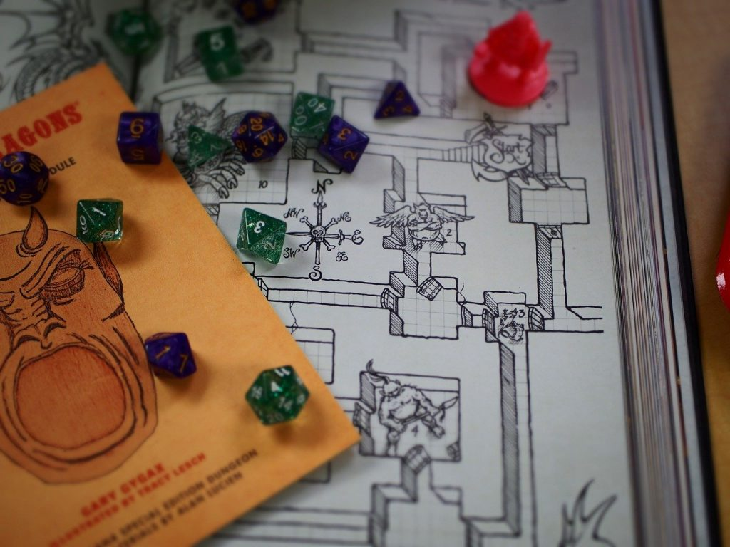mappa dungeon and dragons