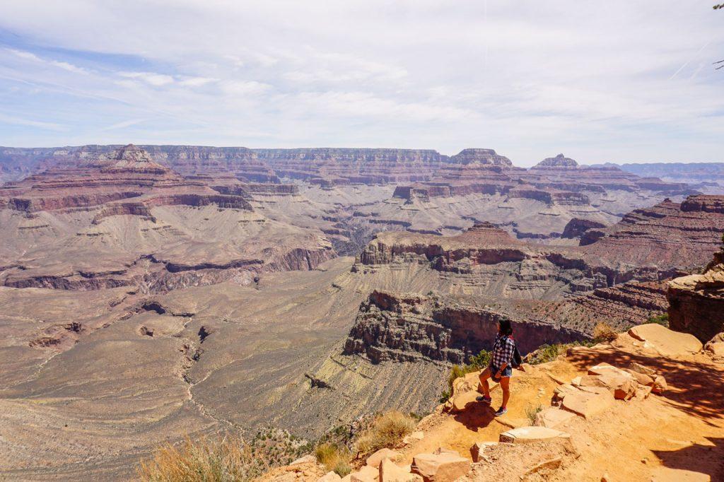 escursione nel grand canyon
