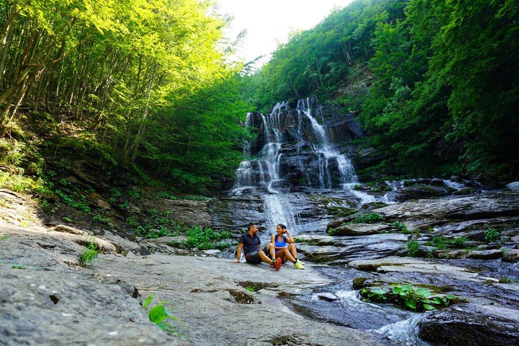 trekking cascate del doccione