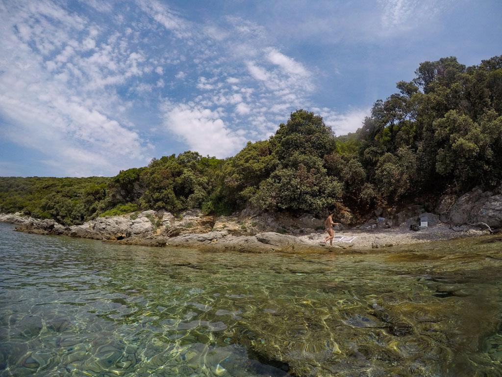 spiagge segrete cres croazia