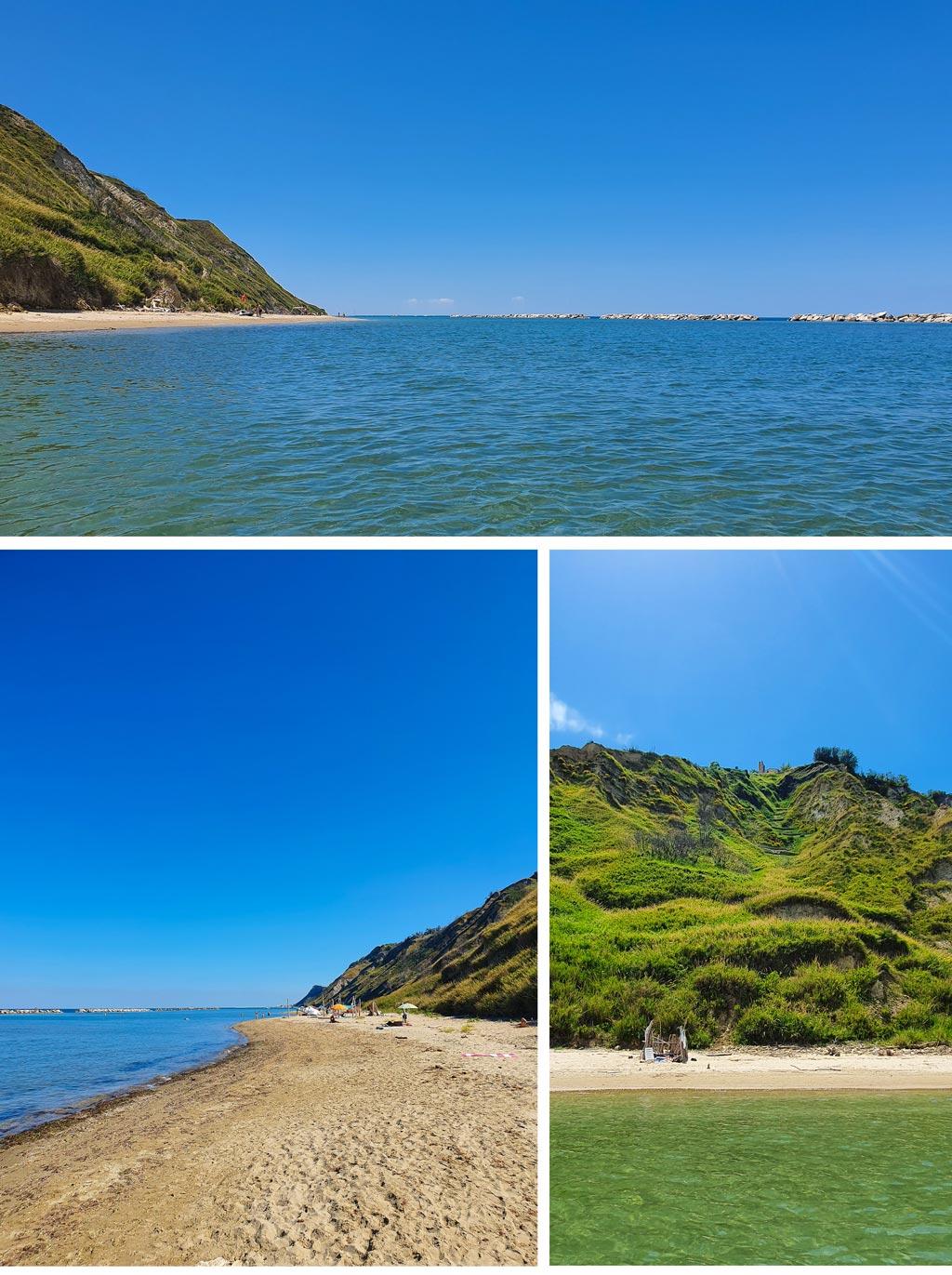 spiaggia di focara mare