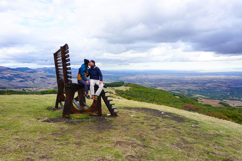 big bench biccari