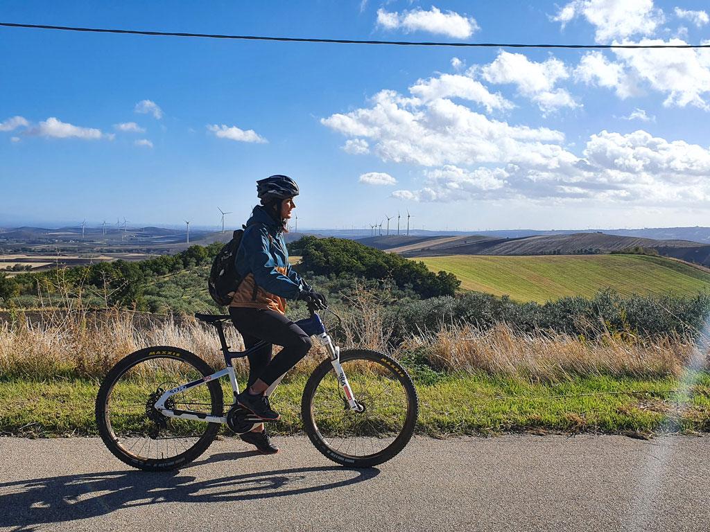 monti dauni mountain bike