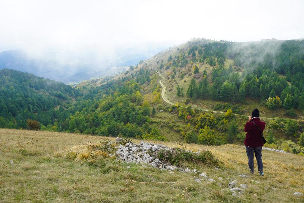 monti dauni trekking monte cornacchia