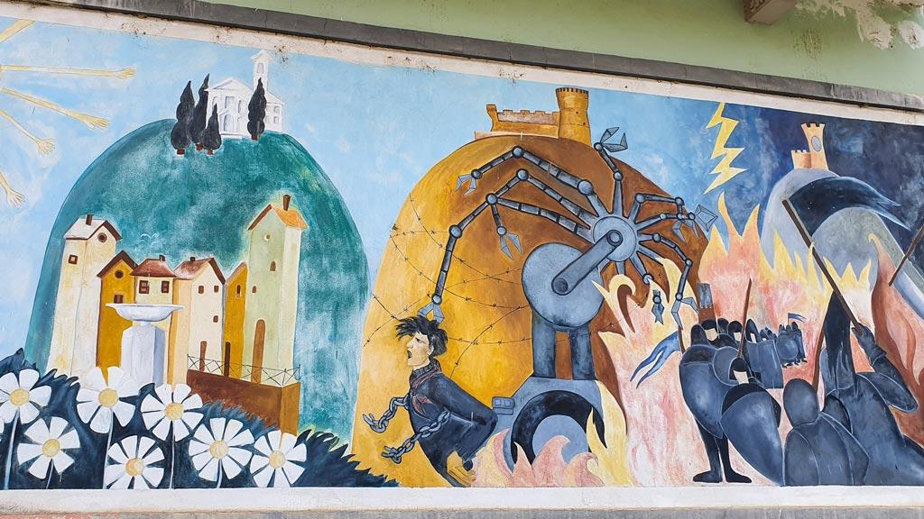 murale brisighella