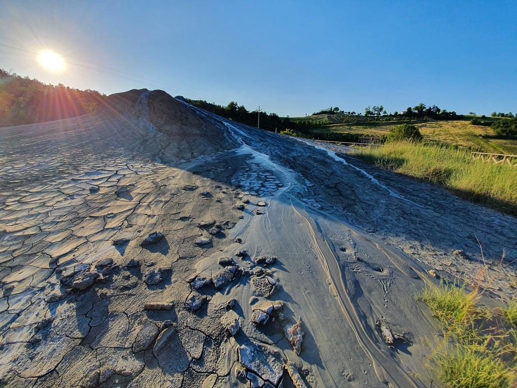 vulcano di fango