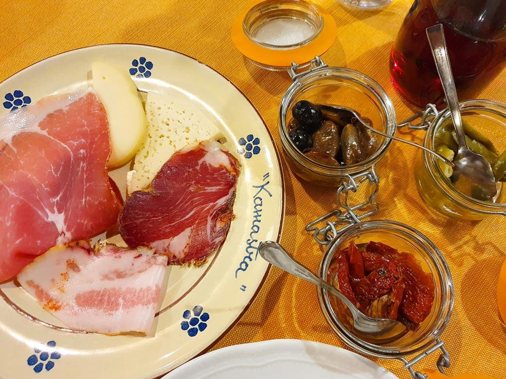 ristorante kamastra civita