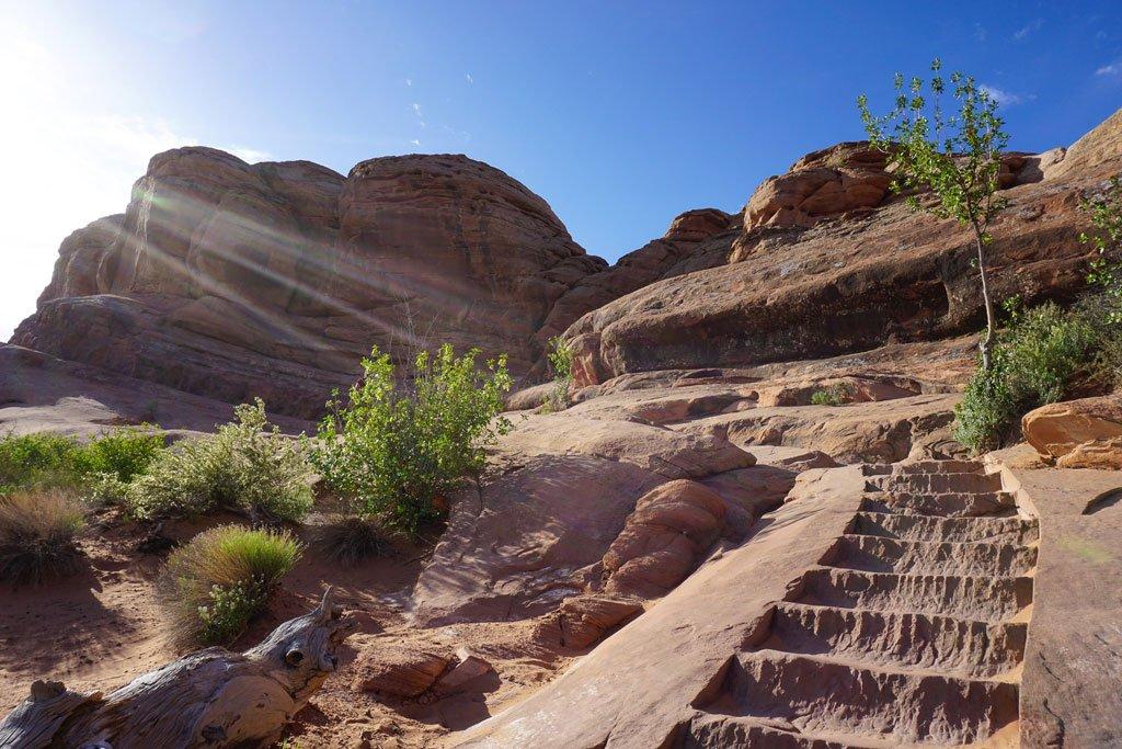 sentiero delicate arch