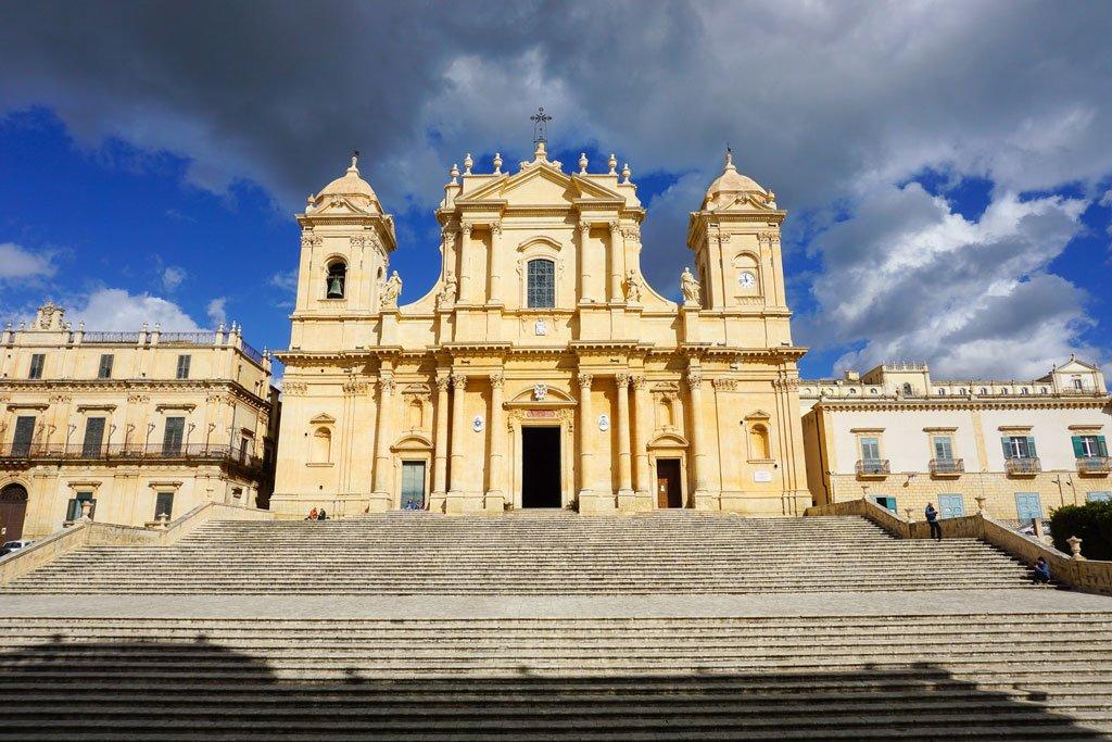 cattedrale di noto sicilia orientale