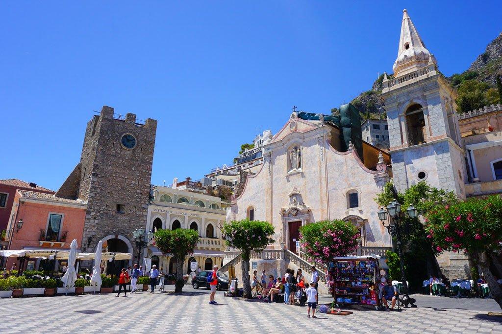 centro storico taormina