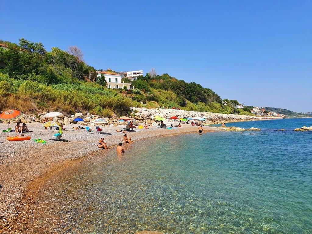 costa dei trabocchi abruzzo spiaggia calata del turchino