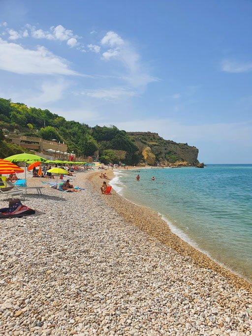 spiaggia ripari di giobbe ortona