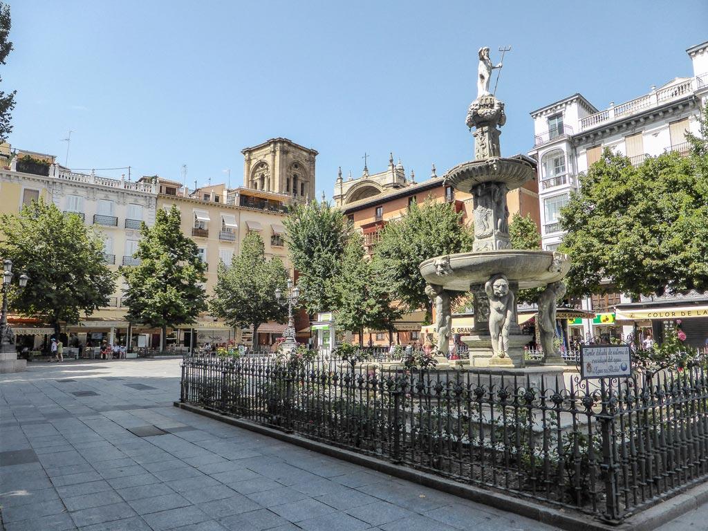 plaza bib-rambla granada