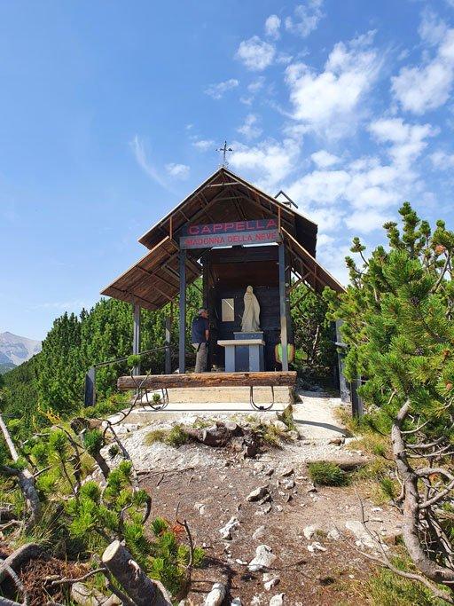 cappella madonna della neve blockhaus