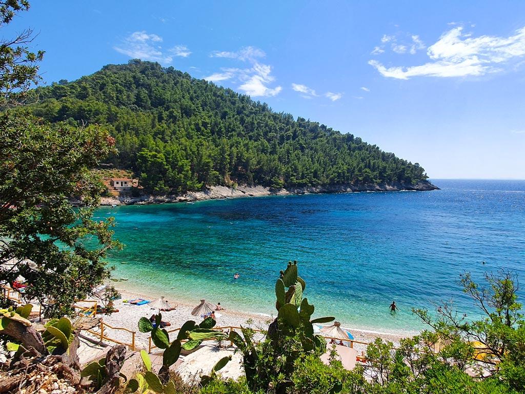 spiagge korcula croazia