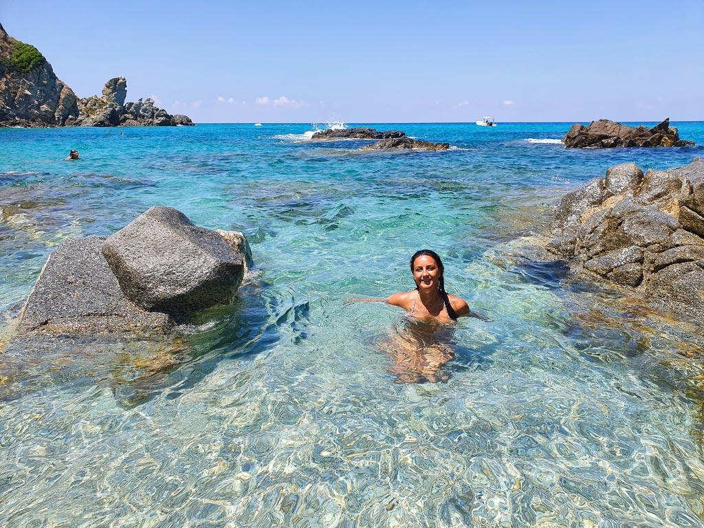 spiaggia il paradiso del sub zambrone