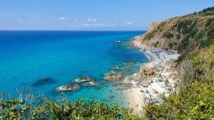 spiaggia paradiso del sub zambrone