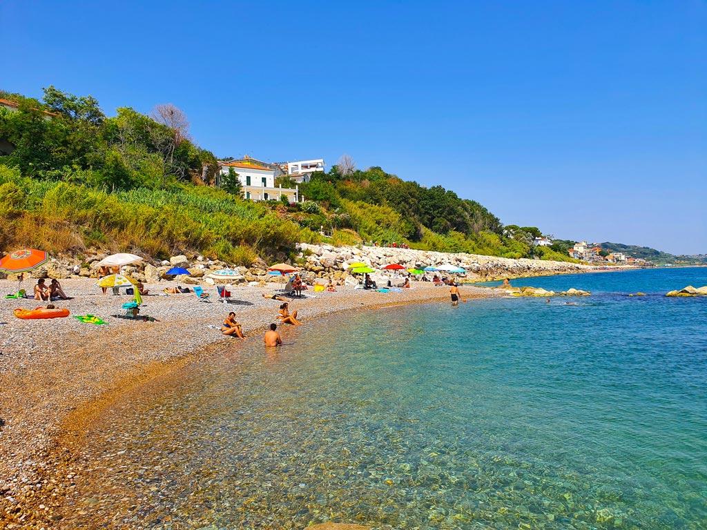 spiaggia calata del turchino abruzzo