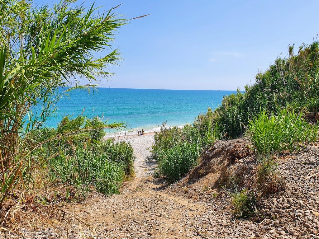 spiaggia le morge costa dei trabocchi