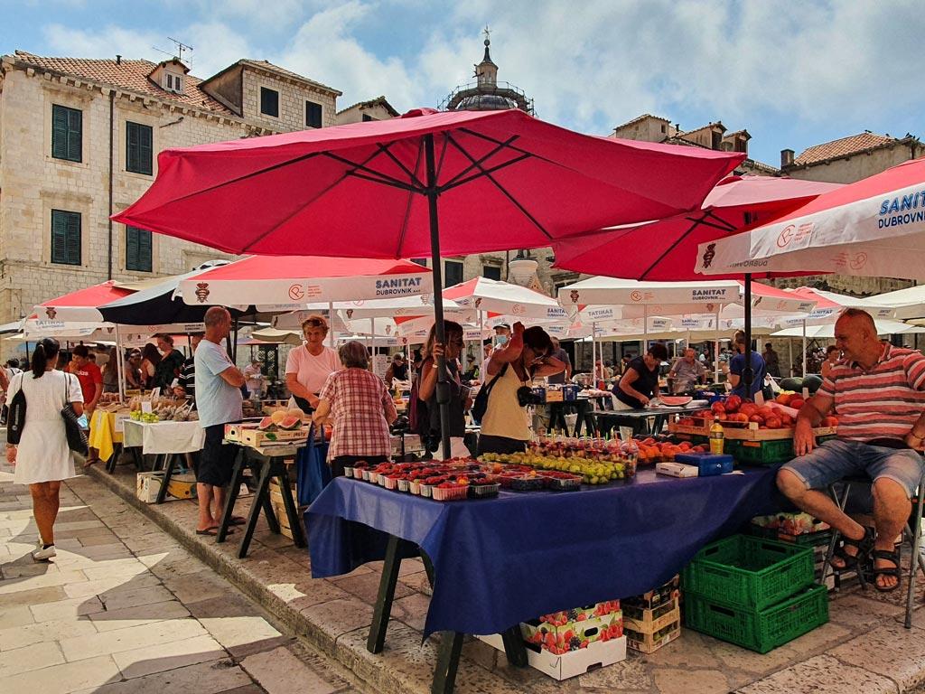 mercato dubrovnik